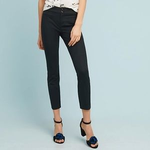 Anthropologie Essential Slim Black Pant - Like New